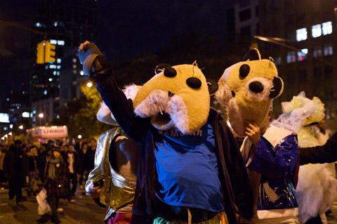 2011 NYC Halloween Parade