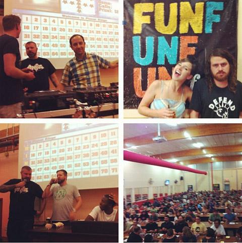 FunFunFun Fest 2012 Bingo!