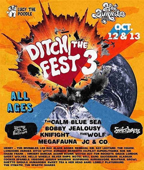 Ditch the Fest 3 @ 29th Street Ballroom 10/12 @ 10/13/2012