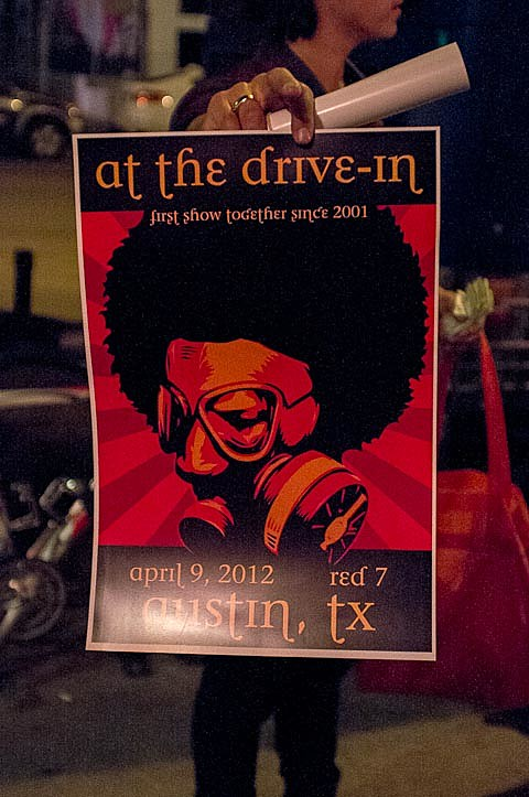At The Drive In @ Red7 - 4/9/2012