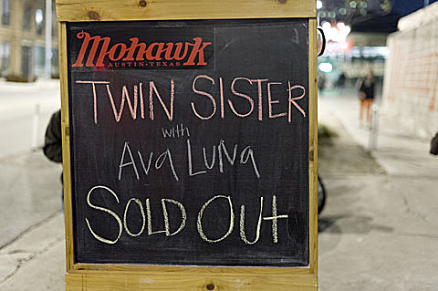 Ava Luna @ Mohawk - 1/29/2012