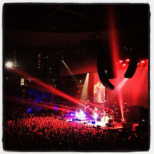 Black Keys @ Erwin center via Instagram