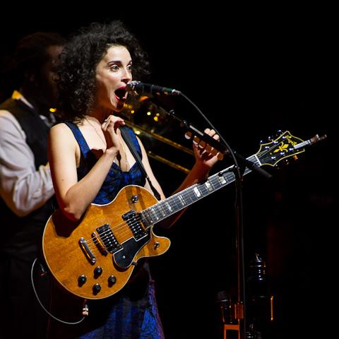 David Byrne & St. Vincent @ Bass Concert Hall - 10/5/2012