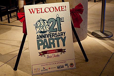 KGSR 21st Anniversary Party @ The Moody Theater - 12/09/2011