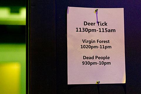 Deer Tick @ Emo's East - 10/25/2011