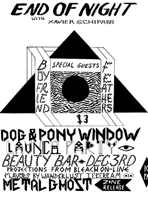 Dog & Pony @ Beauty Bar - 12/03/2011