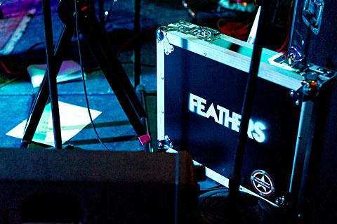 Feathers @ Beauty Bar - 1/28/2012