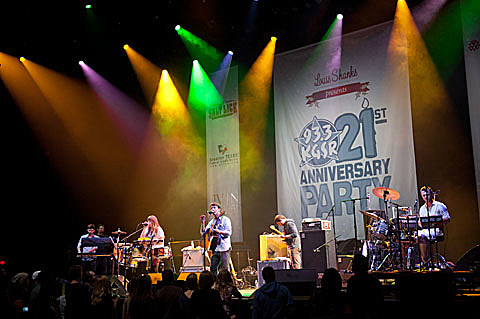 Givers @ The Moody Theater - 12/09/2011