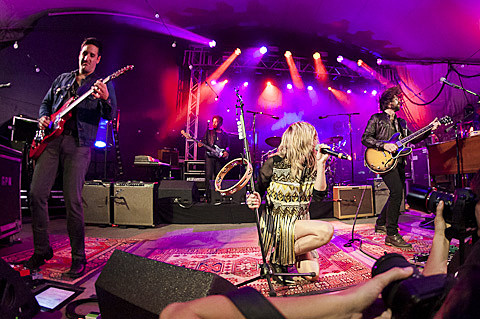 Grace Potter and The Nocturnals @ Stubb's - 11/08/2012