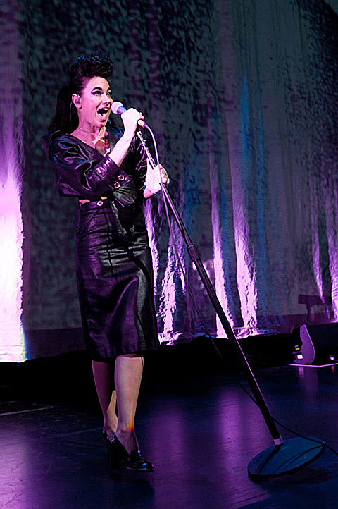 Kristeen Young at Bass Concert Hall 11/15/2011