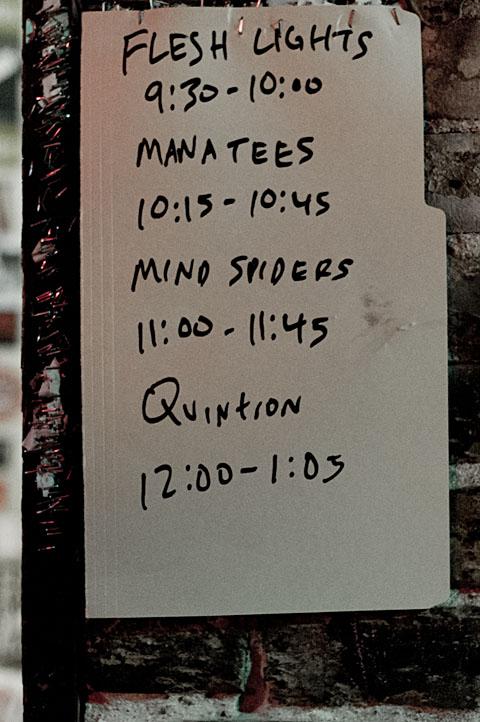 Manatees @ Emo's - 12/29/2011