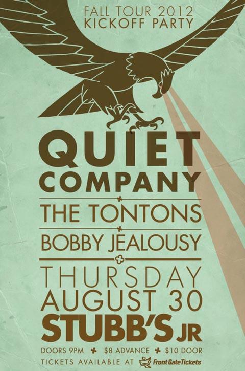 Quiet Company @ Stubb's - 8/30/2012