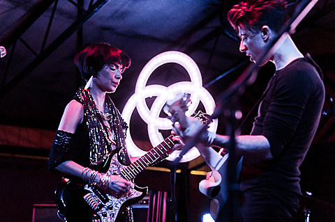School of Seven Bells @ Mohawk - 4/13/2012