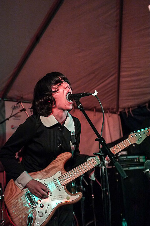Screaming Females @ Bar 96 on 3/14/2012