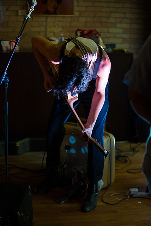 Shakey Graves @ Joie de Vie  - 8/11/2012