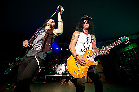Slash featuring Myles Kennedy and The Conspirators @ Stubb's - 9/7/2012