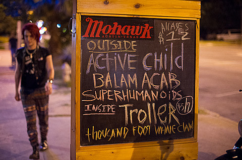 Superhumanoids @ Mohawk - 5/4/2012