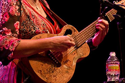 Terri Hendrix and Lloyd Maines @ The Moody Theater - 12/17/2011