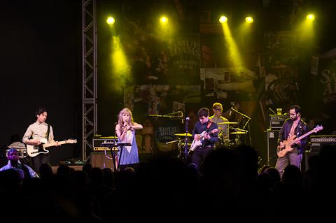 Wild Moccasins @ Stubbs' on 3/10/2012
