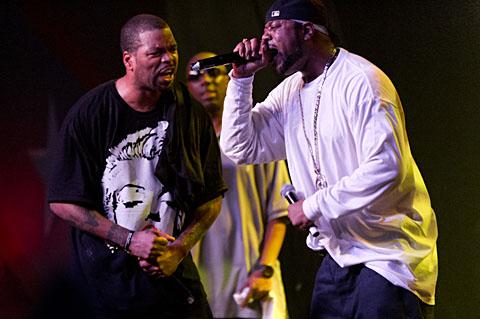 Wu-Tang Clan @ Emo's East - 1/14/2012