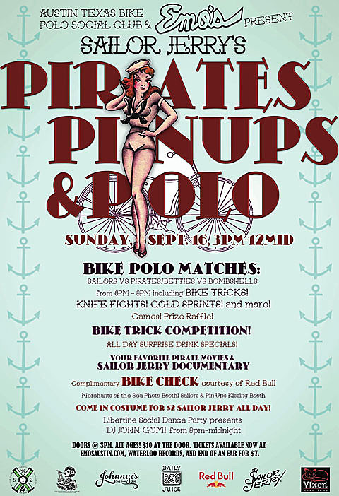 SAILOR JERRY'S PIRATES, PIN-UPS, AND POLO! - 9/16/2012