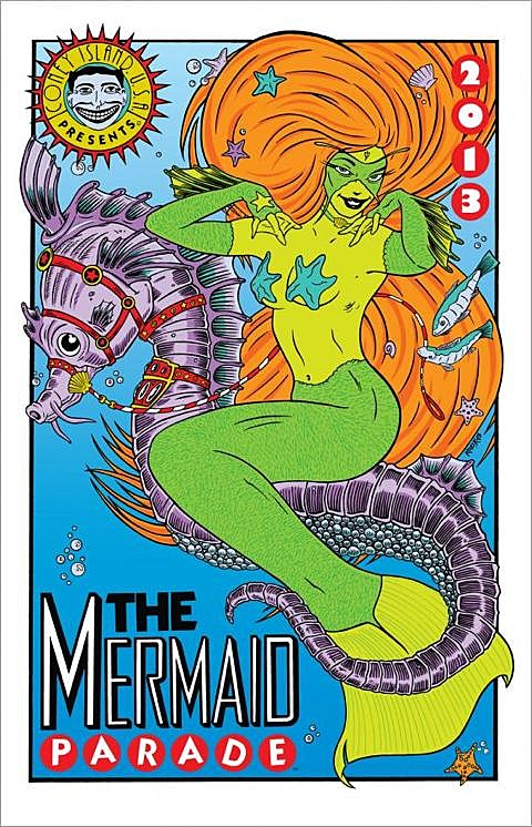 Mermaid Parade flyer