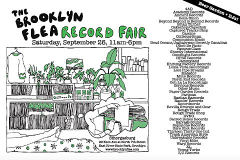 Brooklyn Flea Record Fair May 2015
