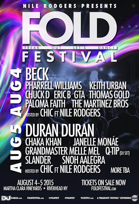 Fold Festival Nile Rodgers