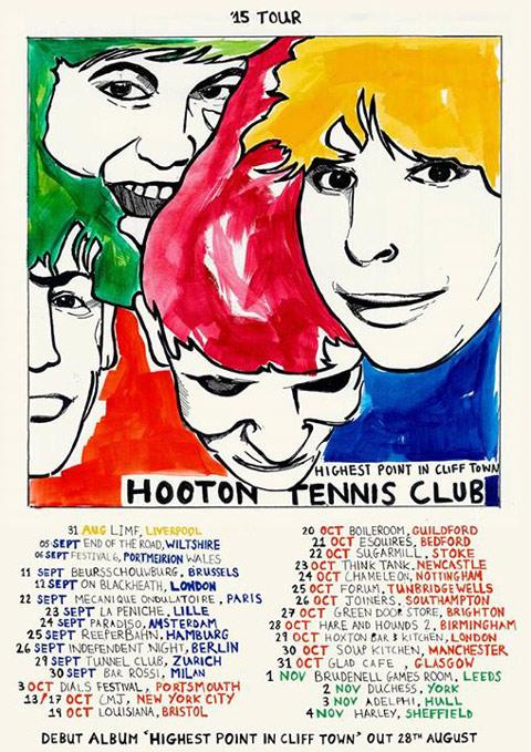 Hooton Tennis Club flyer