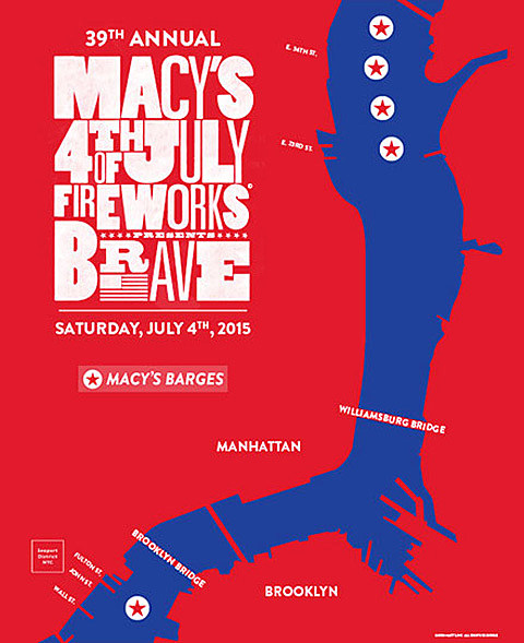 Where to watch Macy's Fourth of July fireworks 2015