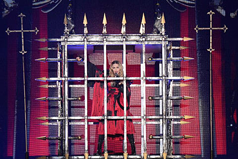 Madonna at Bell Centre Montreal September 9 2015