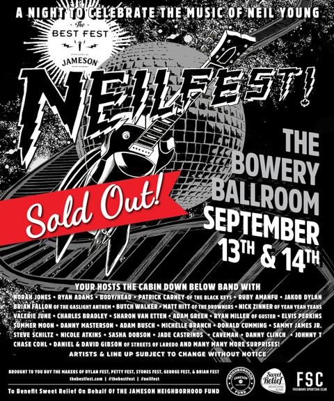 NeilFest Poster