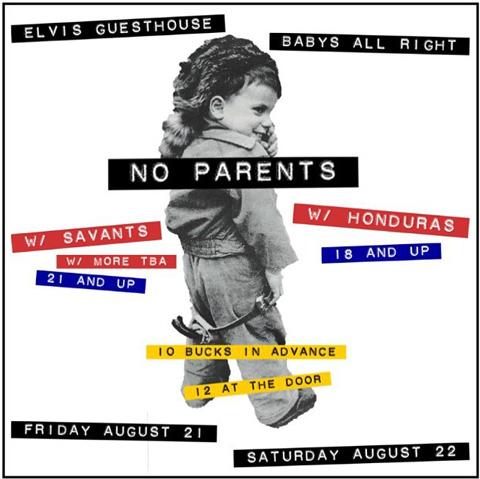 No Parents band