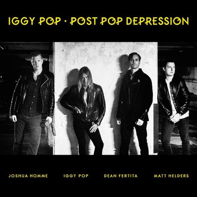 Iggy Pop Josh homme Gardenia Stephen Colbert