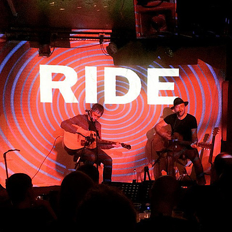 Ride's Andy Bell & Mark Gardner played acoustic in London