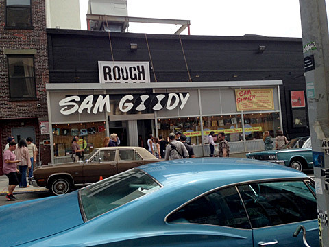 Brooklyn's Rough Trade transformed into a '70s Sam Goody for