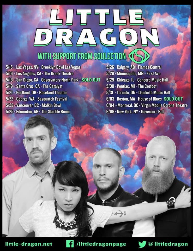 Little Dragon tour