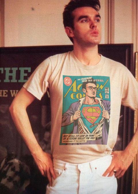 New Wave superhero morrissey