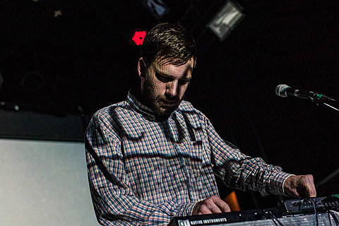 Mount Kimbie and friends at Bowery Ballroom