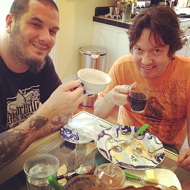Phil Anselmo and Dave Hill