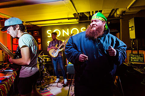 Action Bronson Responds To Video Comments Was A Surprise Guest Sonos Studio NYC Pics