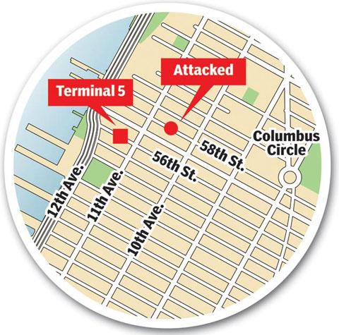 Terminal 5 attack