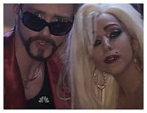Justin Timberlake and Lady Gaga