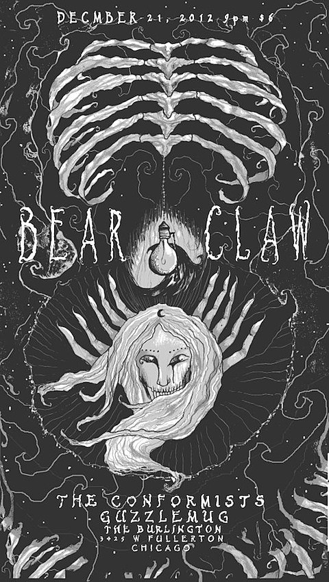 bear-claw-burlington-poster
