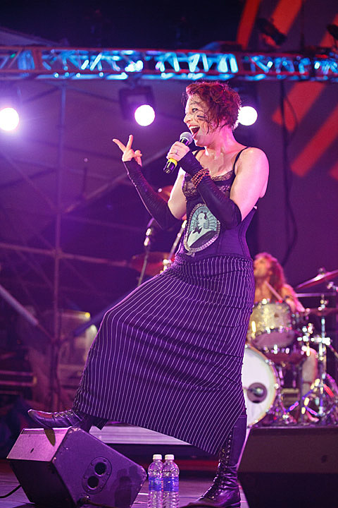 Amanda Palmer - Lincoln Center Out of Doors , NYC - August 9th, 2013