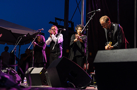 Mavis Staples - AV Fest 2013, Chicago - photos by Jeff Ryan - September 6th, 2013