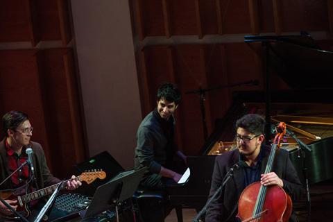 Dawn of Midi & Bright Wave - Ecstatic Music Festival - 02/01/14