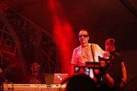 French Montana, Diddy, Mackelmore, Earl Sweatshirt @ Fader Fort