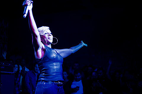 Mary J Blige Coney Island