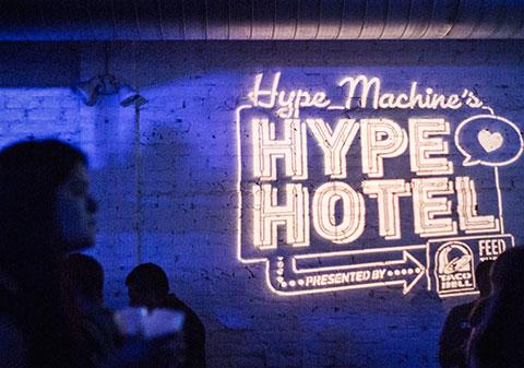 SXSW Hype Machine's Hype Hotel - Austin, TX - 03/1414